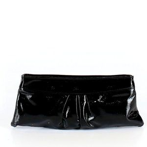 Style & Co Black Patent Leather Clutch